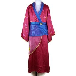 Disney Store Mulan Princess Kimono Costume Dress